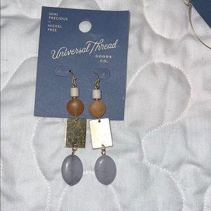 Universal Thread Semi precious earring 1 pair